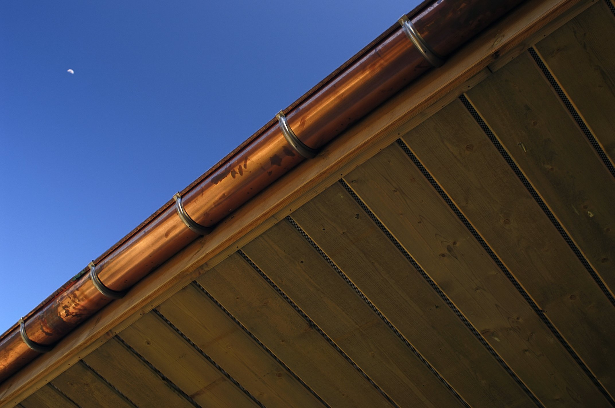 Copper gutters installation service MT Lebanon